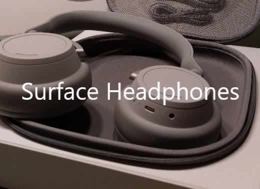 Surface Headphones unboxing