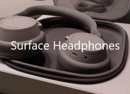 Surface Headphones unboxing