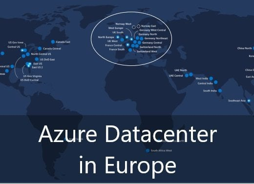 azure regions in europe title image