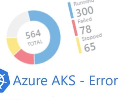 Azure AKS attach disc failed