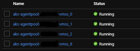 Azure AKS, volume attach failed: VMSS Instances